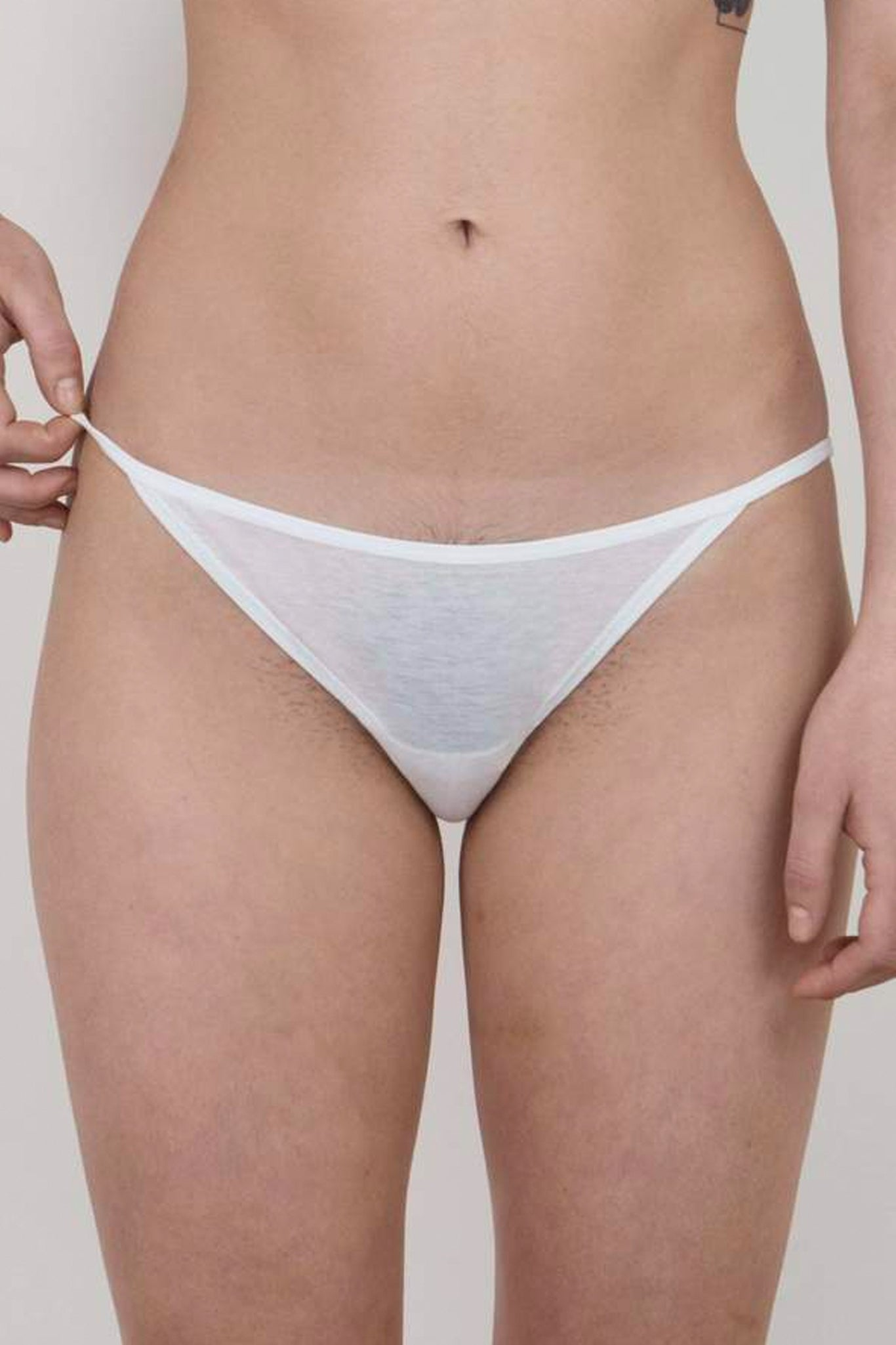 Oddobody String Bikini - Chalk
