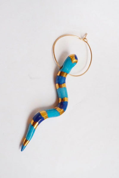 Ippolita Ferrari Serpente Hoop (Single)