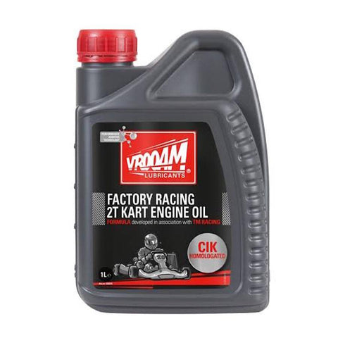 VROOAM FACTORY RACING 2T KART OIL - Karts And Parts Ltd