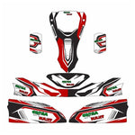 HAASE STICKER KIT - Karts And Parts Ltd