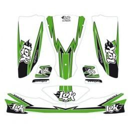 LGK STICKER KIT - Karts And Parts Ltd