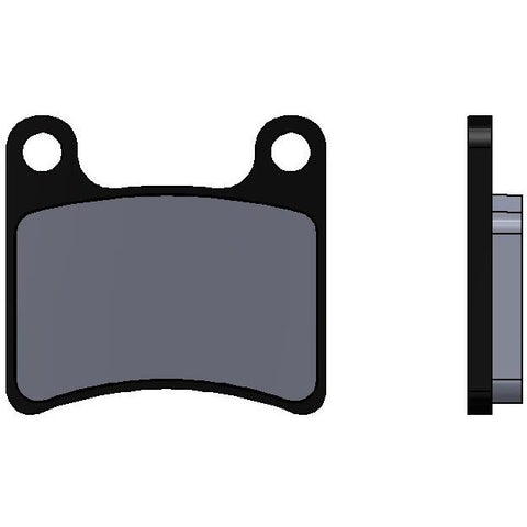 INTREPID R1  FRONT BRAKE PADS - Karts And Parts Ltd