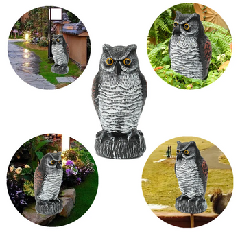 Outdoor Owl Statue Garden Decor