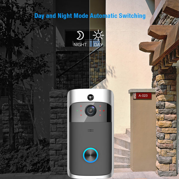 Smart Doorbell camera can automatically switch between day mode and night mode