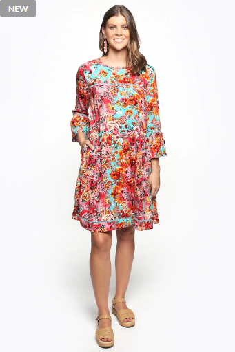 LAKEY SHIFT DRESS
