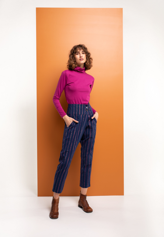 LUX BUTTON PANT