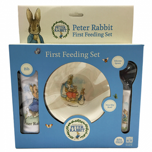 FIRST FEEDING SET PETER RABBIT
