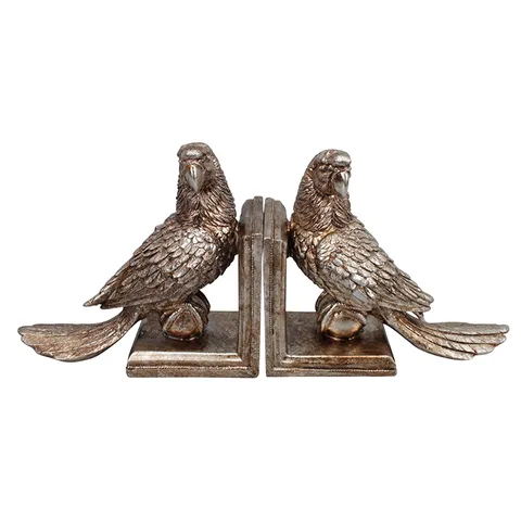 POLLY PARROT BOOKENDS
