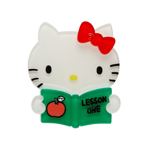 HELLO KITTY - LESSON ONE BROOCH