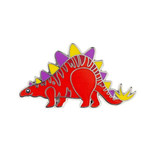 SCOTTY STEGOSAURUS ENAMEL PIN