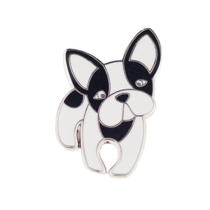 FABIAN THE FRENCH BULLDOG ENAMEL PIN