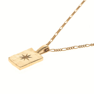 PRETTIEST STAR RECTANGLE PENDANT