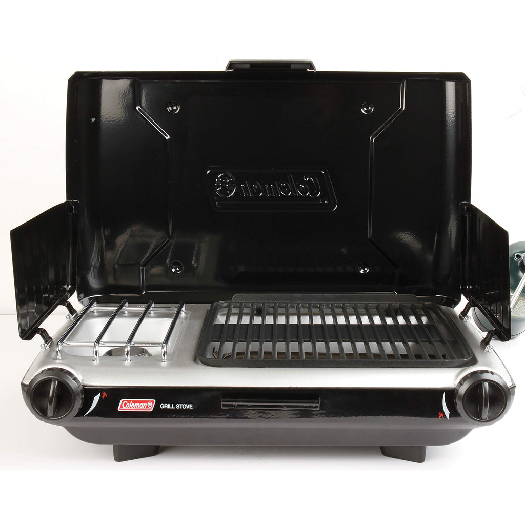 Coleman 2 Burner Grill Stove Combo Black 2000020929