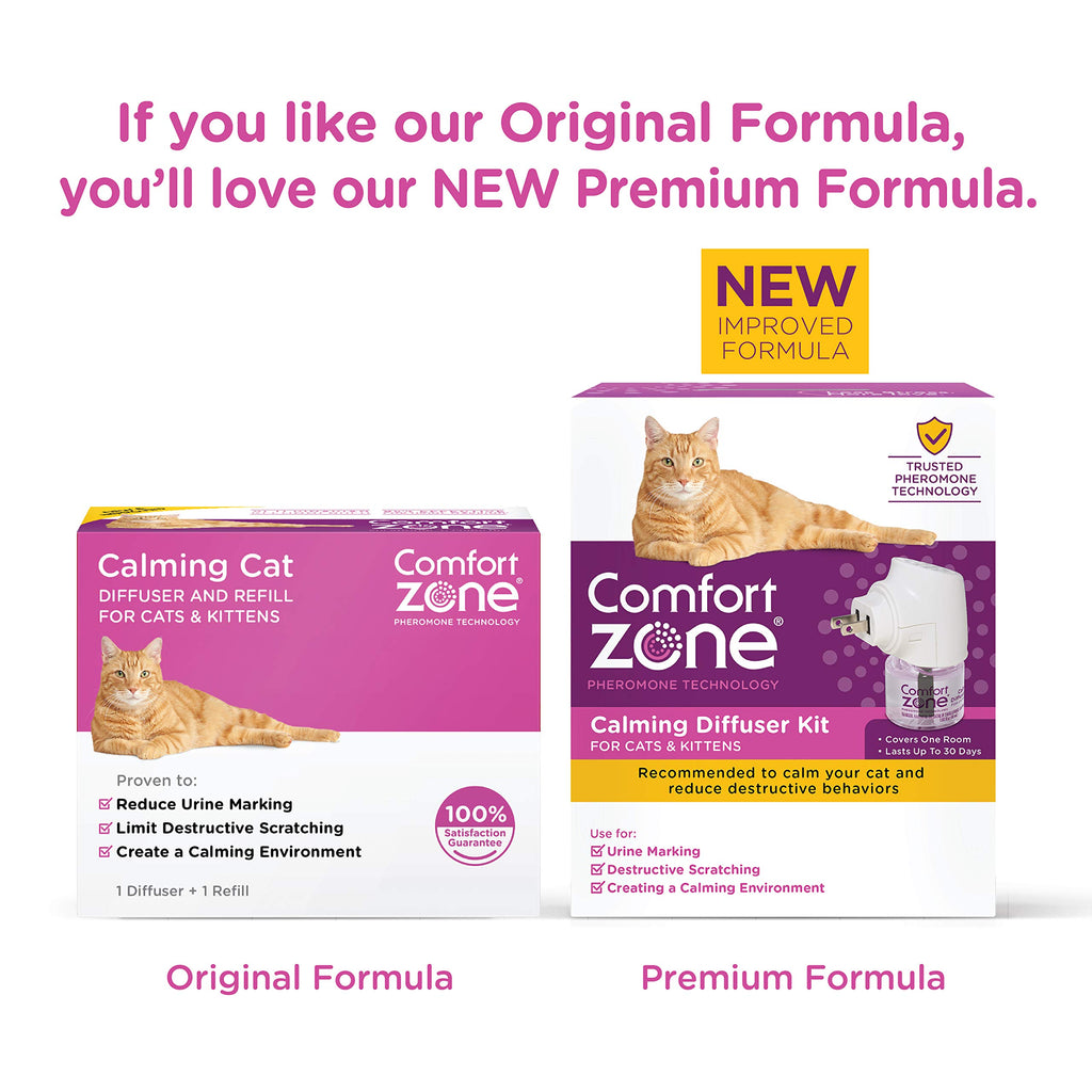 Comfort Zone Cat Calming Diffuser Value Pack Ecomm