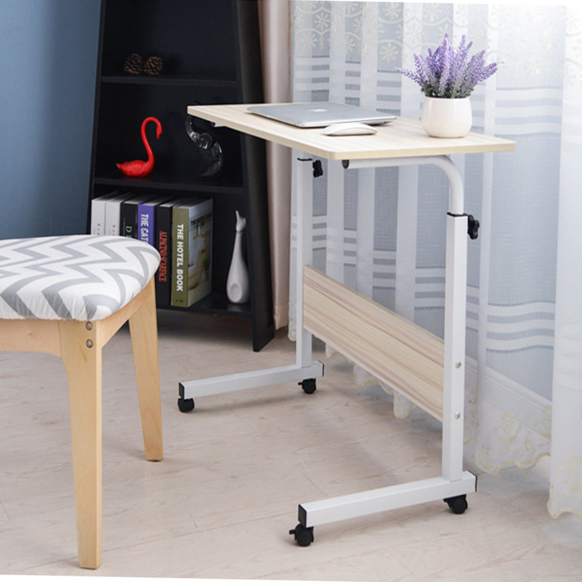 Portable Adjustable Folding Computer Desk for Working at Home
