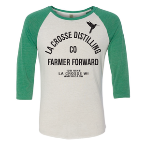 Farmer Forward baseball tee