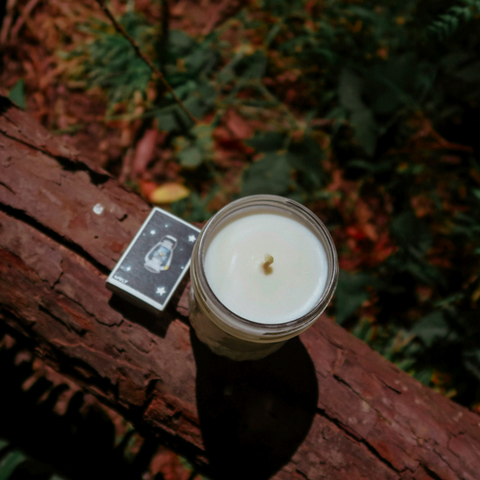 MOTHER EARTH | CANDLE WITH WVLF LANTERN MATCHES