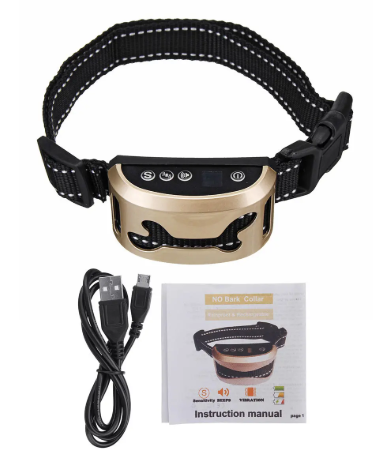 BarkT™ Anti bark collar for stop bark dog training