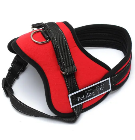 DogT ™ Large Tactical Service Dog Harness Vest Adjustable for Sport Working Training