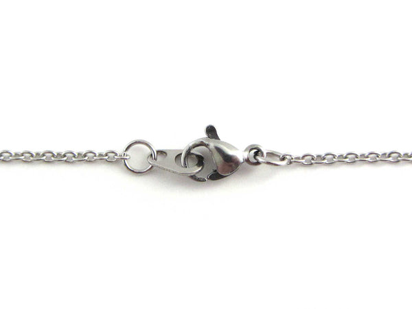stainless steel lobster clasp closure