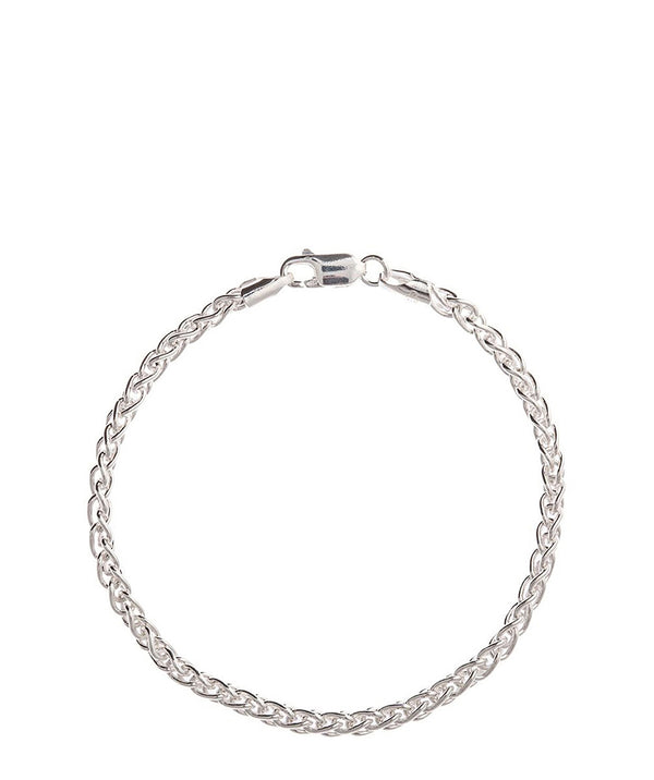 Gift Packaged 'Lynda' Sterling Silver Chain Bracelet