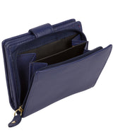 'Maple' Cobalt Blue Leather RFID Purse