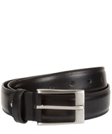 Black Pure Luxuries Leather Men's Belt
