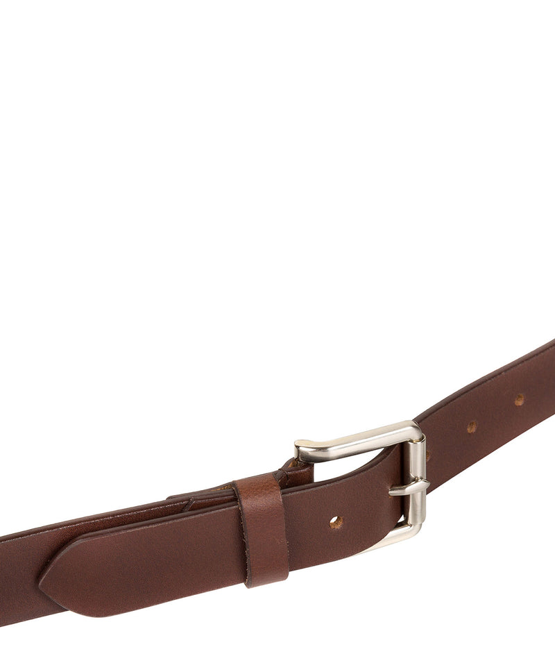 Brown Pure Luxuries Leather Men's Belt