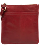 'Lauryn' Chilli Pepper Leather Cross Body Bag image 3