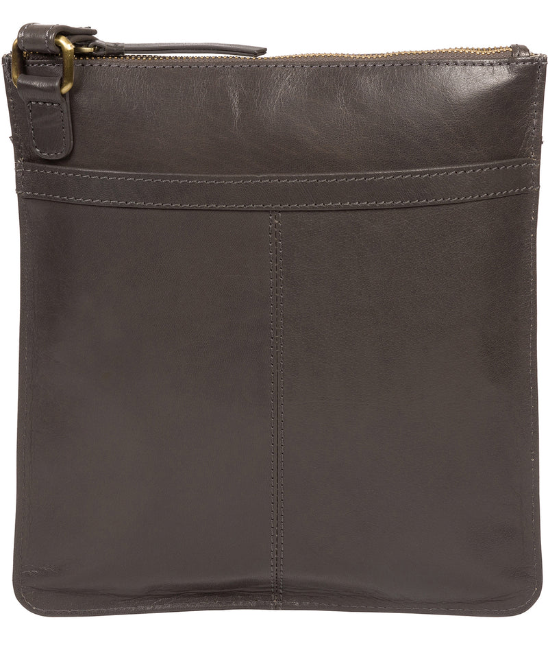 'Lauryn' Slate Leather Cross Body Bag image 3