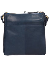 'Shona' Snorkel Blue Leather Cross Body Bag image 3