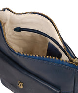 'Shona' Snorkel Blue Leather Cross Body Bag image 4