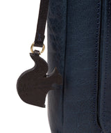 'Shona' Snorkel Blue Leather Cross Body Bag image 6