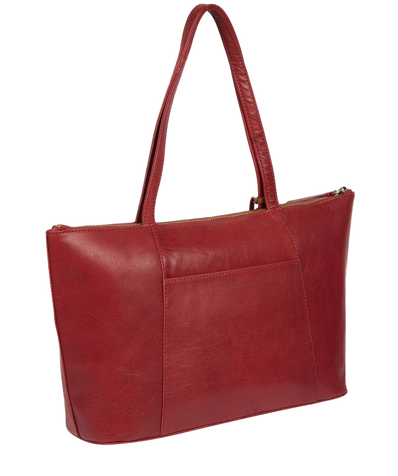 'Clover' Chilli Pepper Leather Tote Bag image 3