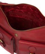 'Nancie' Chilli Pepper Leather Shoulder Bag image 4