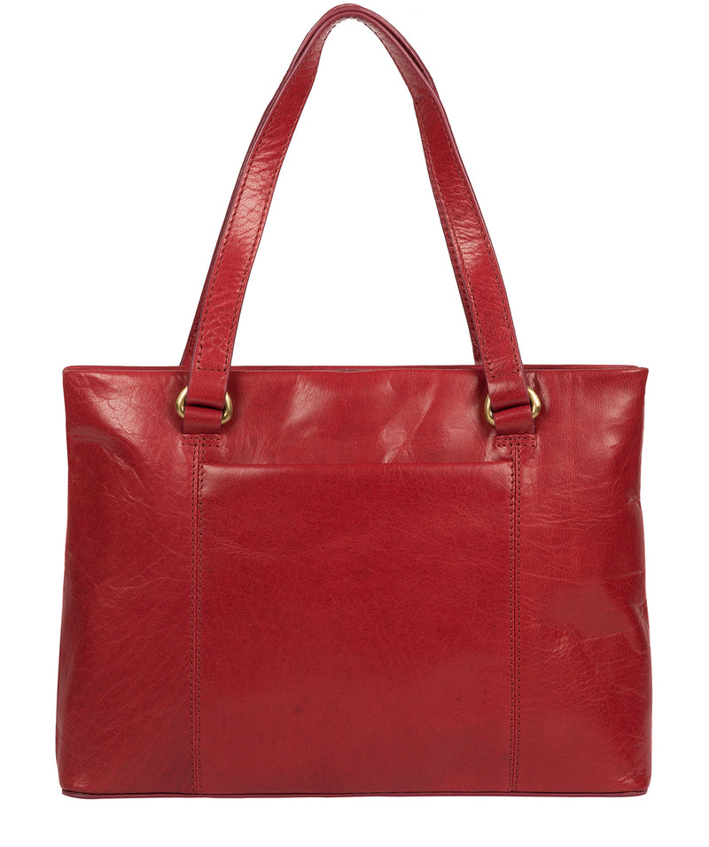 'Alice' Chilli Pepper Leather Handbag image 3