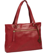 'Alice' Chilli Pepper Leather Handbag image 5