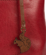 'Alice' Chilli Pepper Leather Handbag image 6
