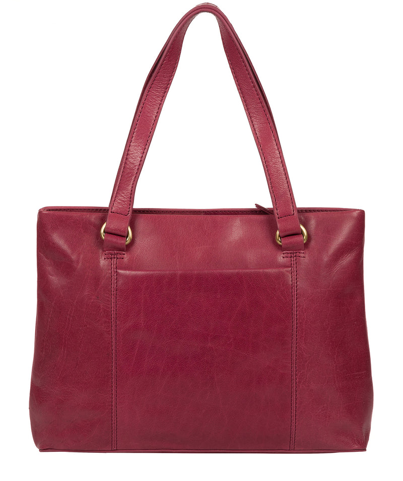 'Alice' Orchid Leather Handbag image 3