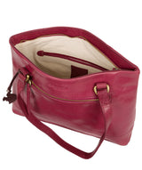 'Alice' Orchid Leather Handbag image 4
