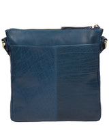 'Avril' Snorkel Blue Leather Cross Body Bag image 3
