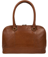 'Bailey' Conker Brown Leather Handbag image 6
