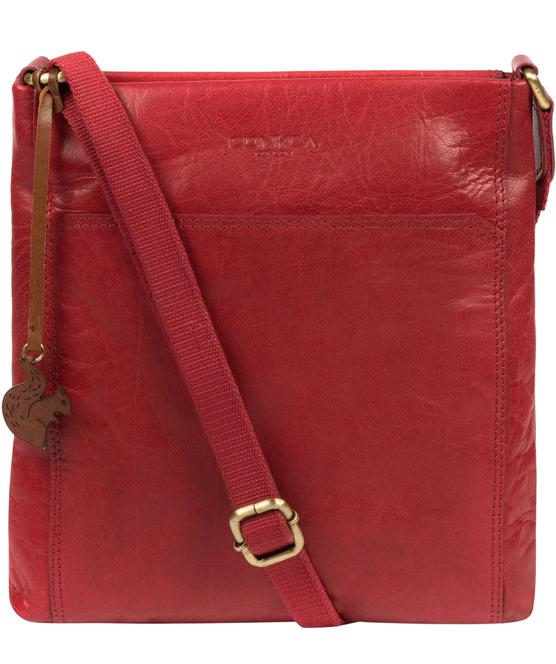 'Dink' Chilli Pepper Leather Cross Body Bag image 1