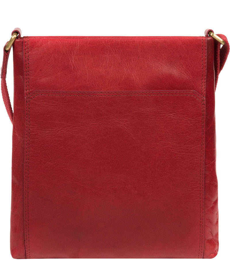 'Dink' Chilli Pepper Leather Cross Body Bag image 3