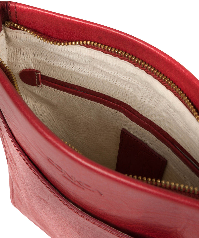 'Dink' Chilli Pepper Leather Cross Body Bag image 4