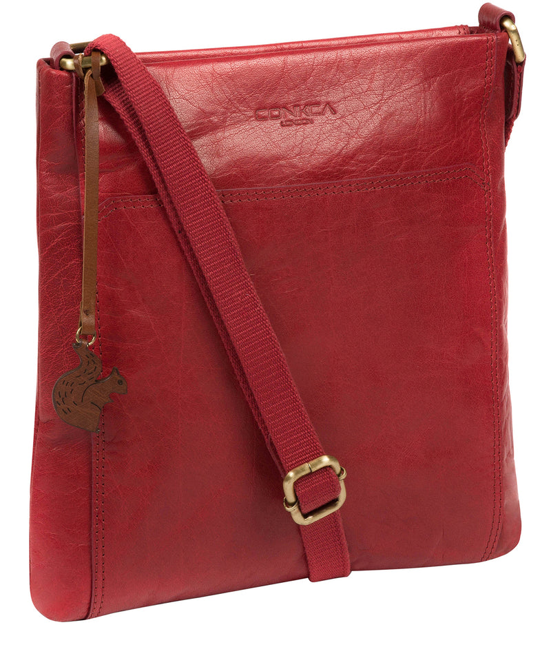 'Dink' Chilli Pepper Leather Cross Body Bag image 5