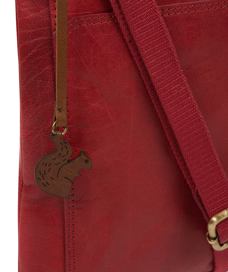 'Dink' Chilli Pepper Leather Cross Body Bag image 6