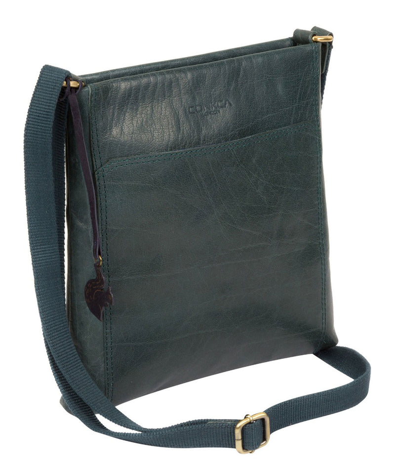 'Dink' Denim Leather Cross Body Bag