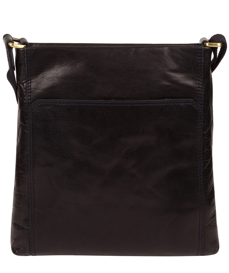 'Dink' Navy Leather Cross Body Bag image 3