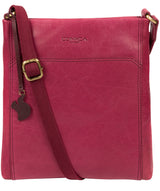 'Dink' Orchid Leather Cross Body Bag image 1
